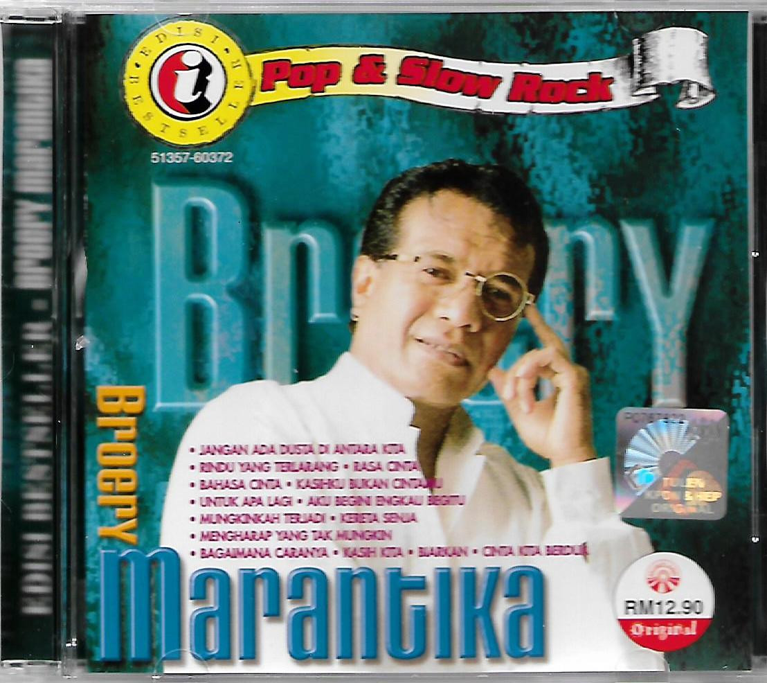 Broery Marantika Edisi Bestseller Pop  & Slow Rock CD