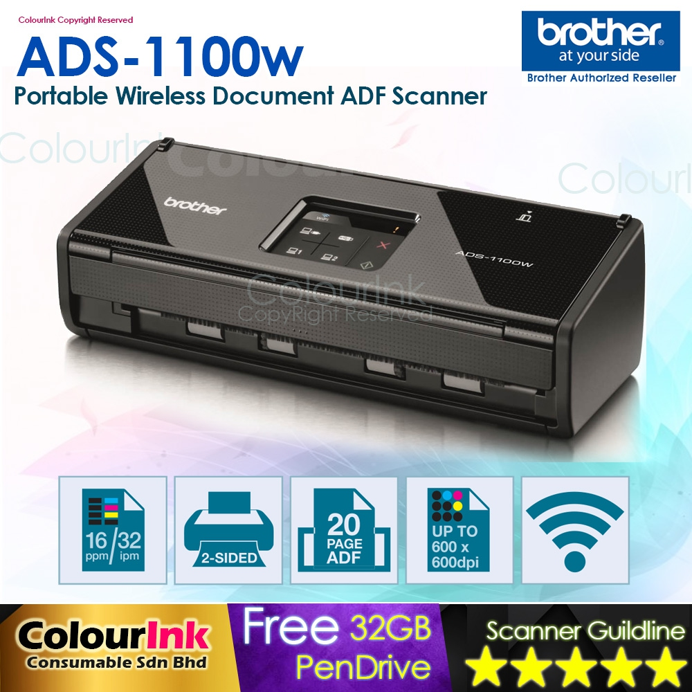 BROTHER ADS-1100W PRINTER DRIVER DOWNLOAD