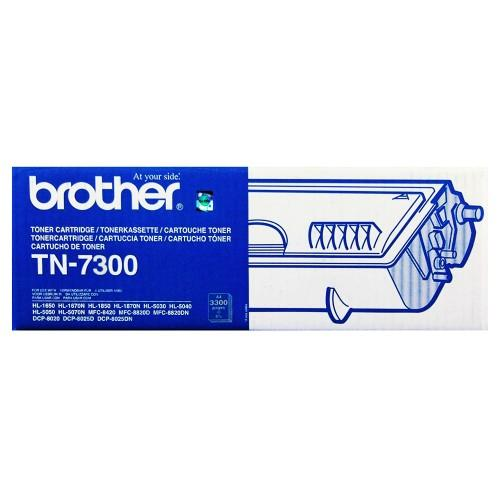 Brother Black Toner Cartridge  (Low Capacity) (TN-7300)