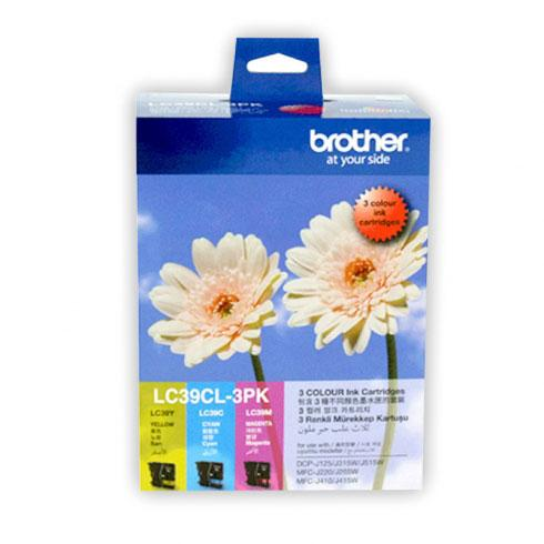 BROTHER  COLOR VALUE PACK INK CARTRIDGE (LC-39)