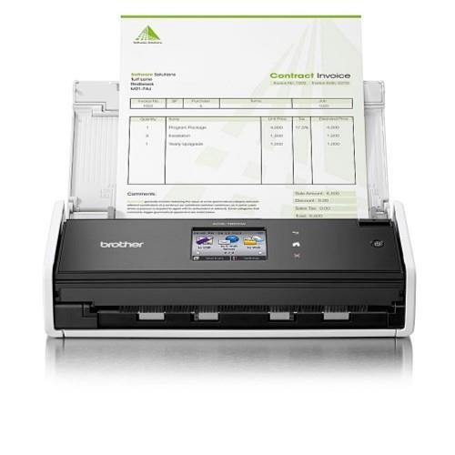 Brother Compact Network & Wireless 2-sided Document Scanner(ADS1600W)