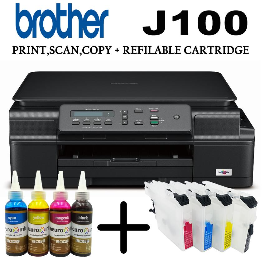 Brother DCP-J100 Printer Drivers Download (2019)
