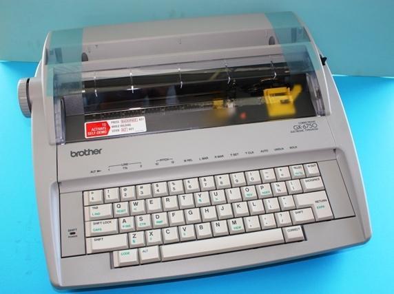 brother electronic typewriter machi end 1 10 2019 10 15 pm rh lelong com my brother electronic typewriter gx-6750 user manual typewriter brother gx 6750 user manual