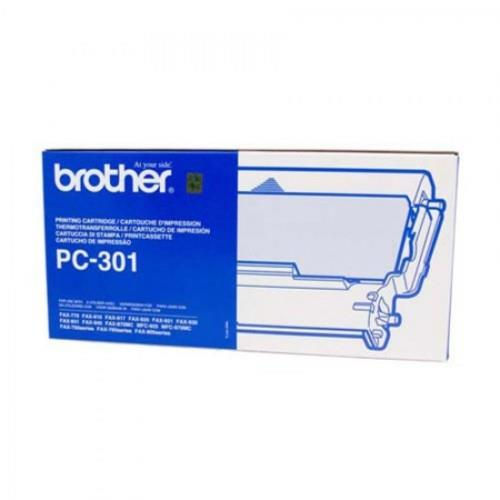 Brother Fax Ink Film (1 Cartridge & 1 Film) (PC301)