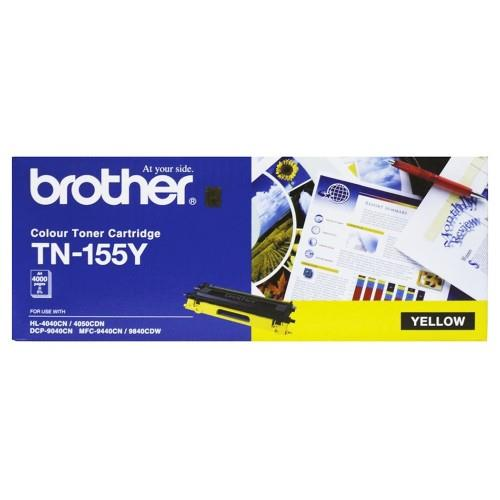 Brother High Cap Toner Cartridge Yellow (TN-155)