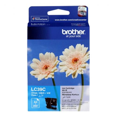 Brother Ink (Genuine) LC-39 Cyan LC39 DCP-J125 DCPJ315W DCP-J140W