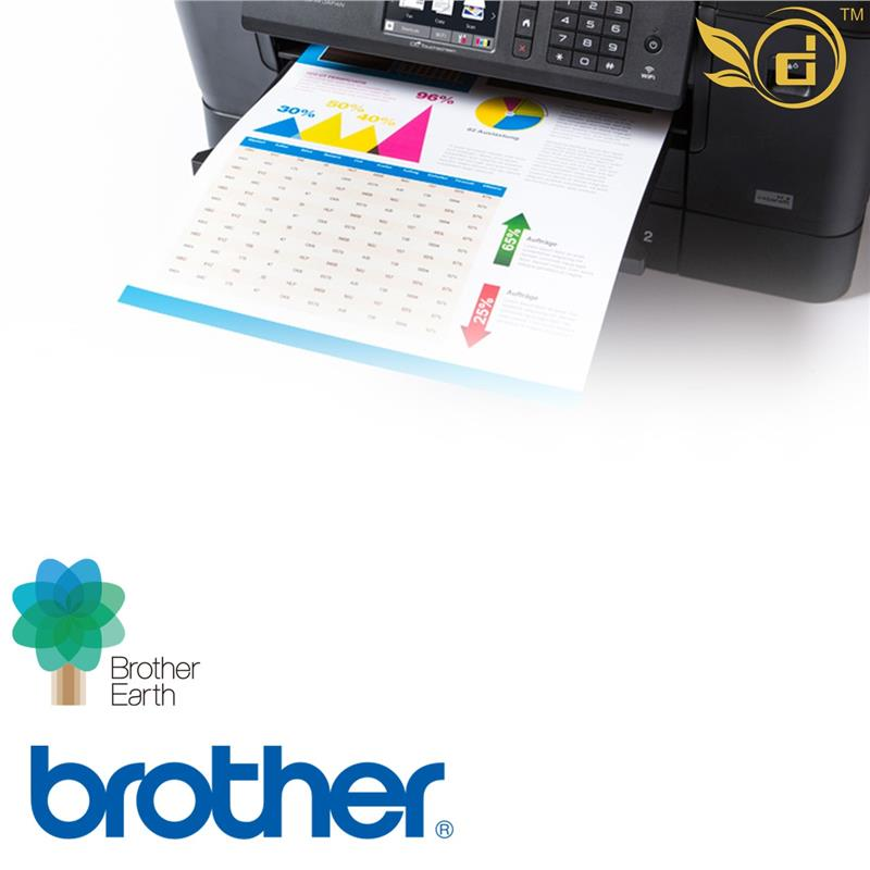 Brother Inkjet MFC-J3930DW Multi-Function InkBenefit Printer
