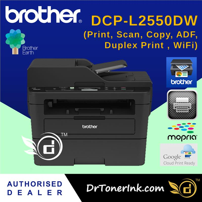 Brother Laser Monochrome Printer DCP-L2550dw