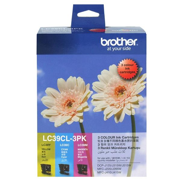 BROTHER LC-39 COLOUR 3 PK