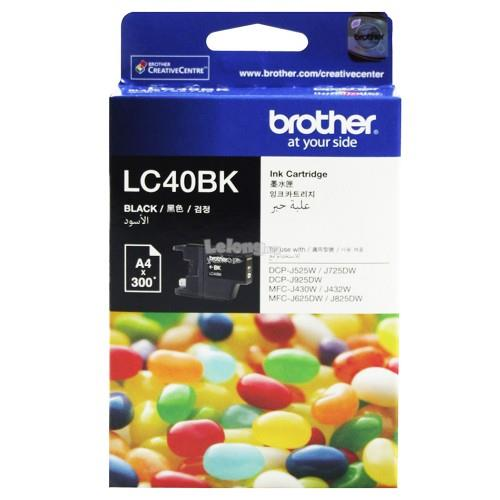 Brother LC-40 Black Ink (LC40BK)