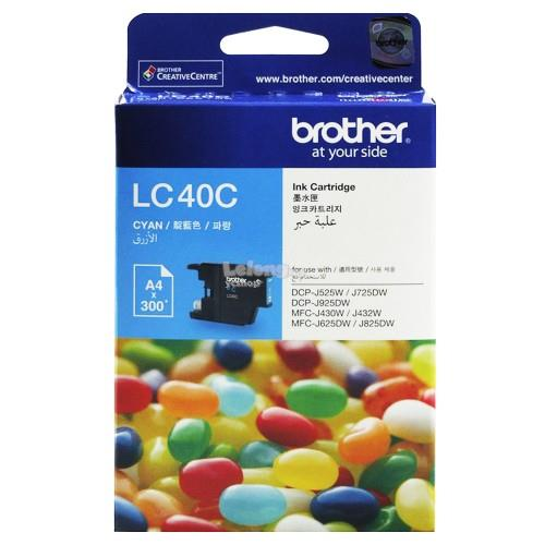 Brother LC-40 Cyan Ink (LC40C)