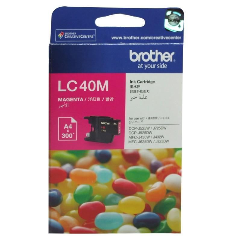 Brother LC-40 M Magenta Ink Cartridge