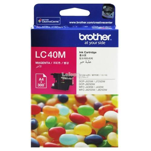 Brother LC-40 Magenta Ink (LC40M)