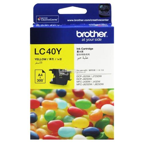 Brother LC-40 Yellow Ink (LC40Y)