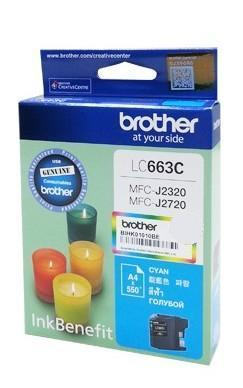 Brother LC-663C Cyan ink cartridge (LC663C)
