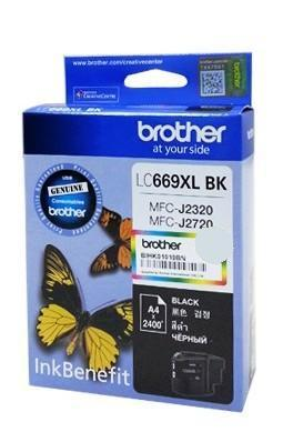 Brother LC-669XL Black ink cartridge (LC669XL)