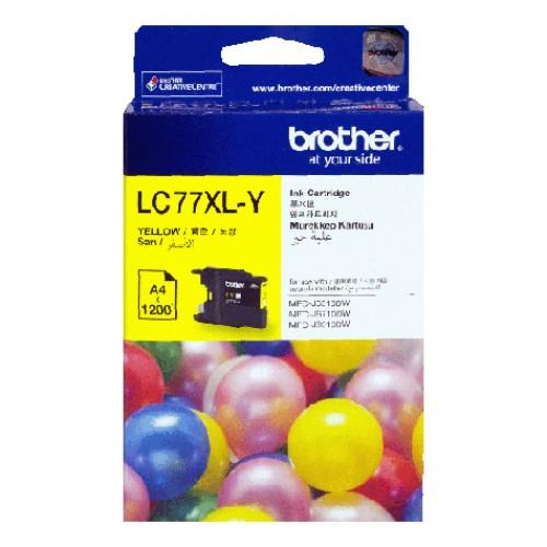 BROTHER LC-77XL YELLOW INK CARTRIDGE (LC77XL)