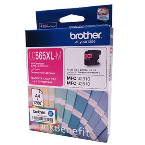 Brother Magenta Ink Cartridge, LC-565XL