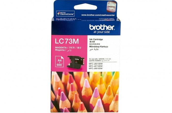 BROTHER MAGENTA INK CARTRIDGE, LC-73
