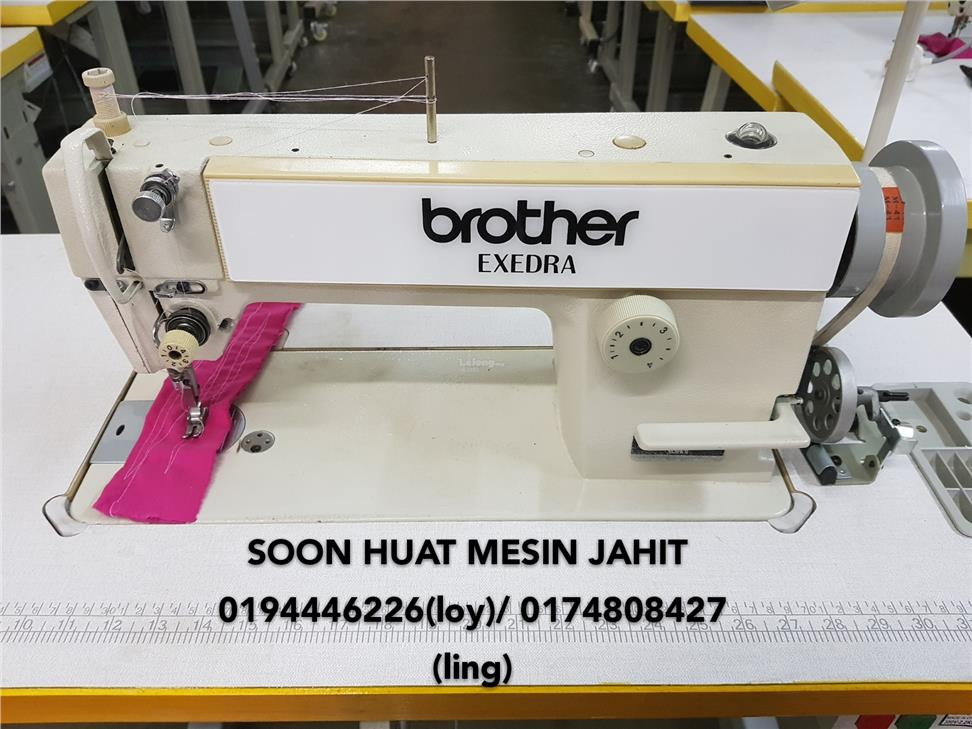 BROTHER Mesin Jahit Lurus SECOND End 4004040 40040 AM Classy Second Hand Sewing Machines Malaysia