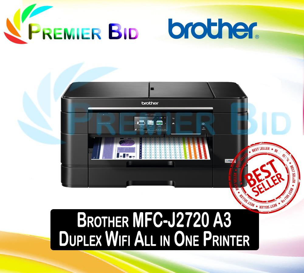 Brother MFC-J2720 A3 Duplex Wifi All in One Printer j 2720