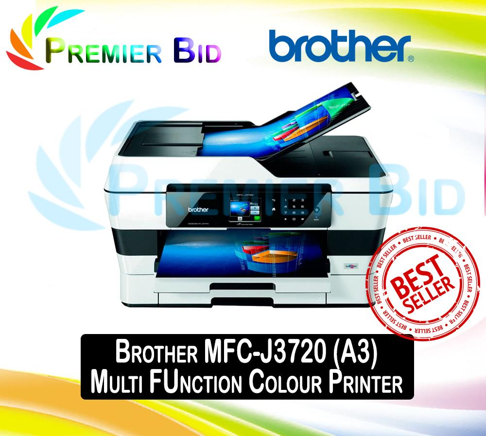 BROTHER MFC-J3720 DRIVERS DOWNLOAD (2019)