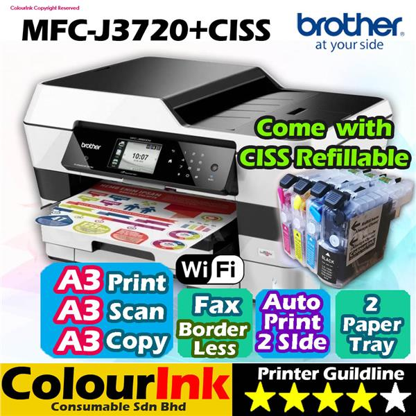 BROTHER MFC-J3720 DRIVER WINDOWS XP