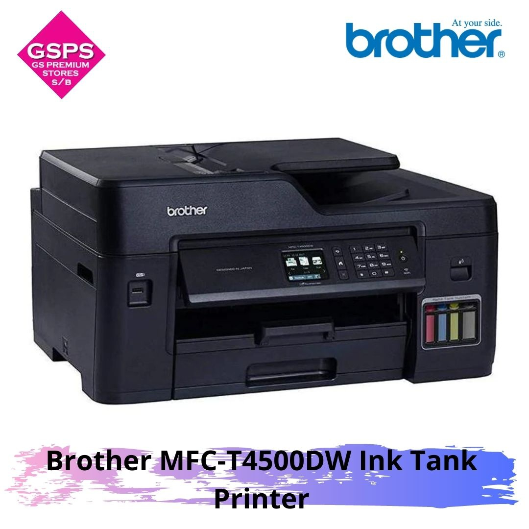 Brother MFC-T4500DW Ink Tank Printer