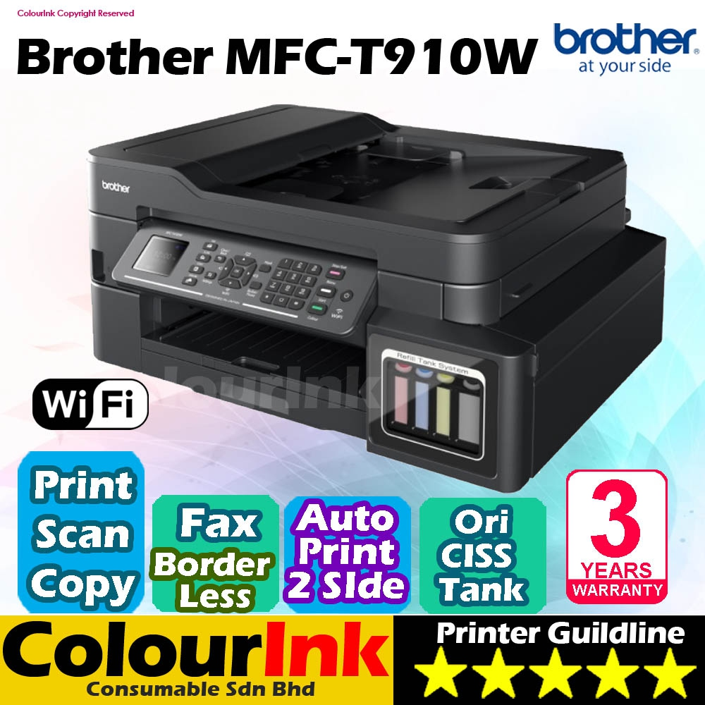 Brother MFC-T910DW Original Ink Tank (end 9/4/2020 6:01 PM)