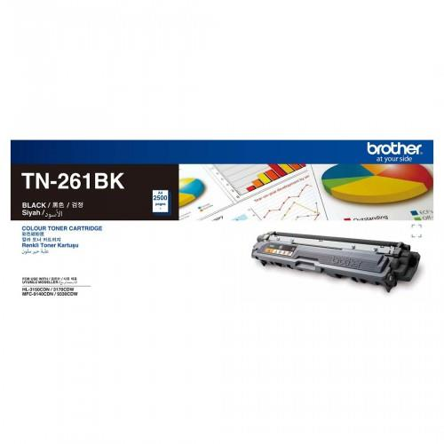 Brother Original TN-261 TN-261BK Black Toner HL-3150CDN/ HL-3170CDW/ M