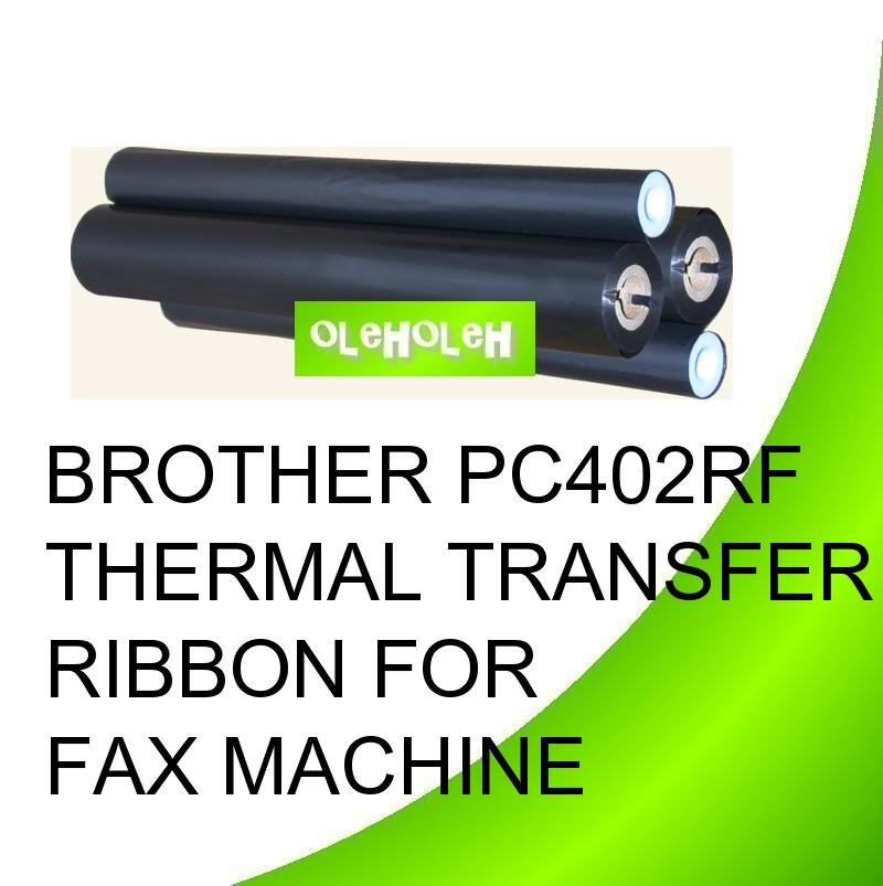 Brother PC402RF Thermal Transfer Ribbon for Fax Machine