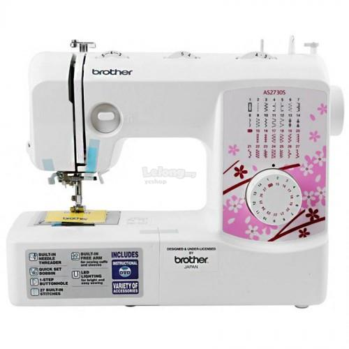 Brother Portable Free Arm Sewing machines (AS2730S)