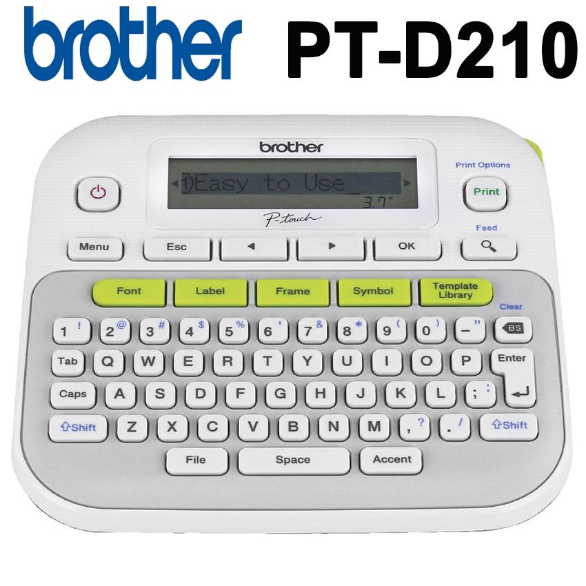 Brother Pt D210 P Touch Labeling M End 12232018 1015 Am