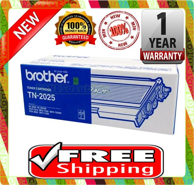 NEW BROTHER TN-2025 Toner 2030 2040 2070 2025 7220 7820 7010