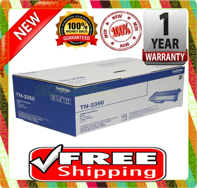 NEW BROTHER TN-3350 Toner 5440 5450 8510 8910 3350 (FREE SHIPPING)