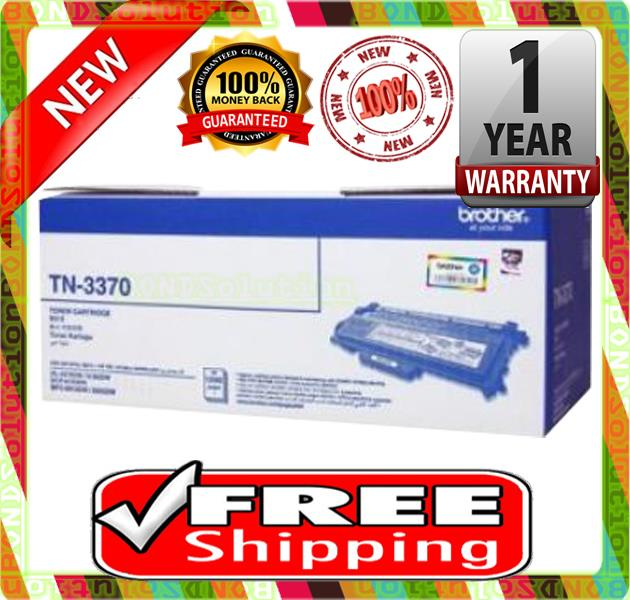 NEW BROTHER TN-3370 Toner 6180 8910 TN 3370 (FREE SHIPPING)