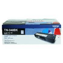 Brother TN-340BK Black Cartridge(Genuine) HL-4150CDN / HL-4570CD 340