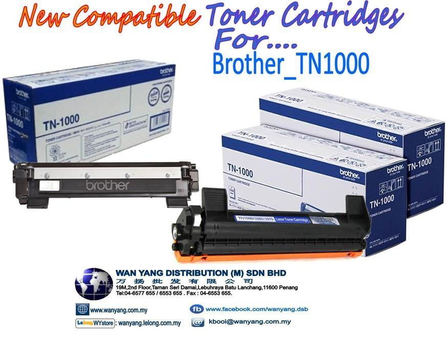 BROTHER  TN1000 Compatible MONO Toner cartridges