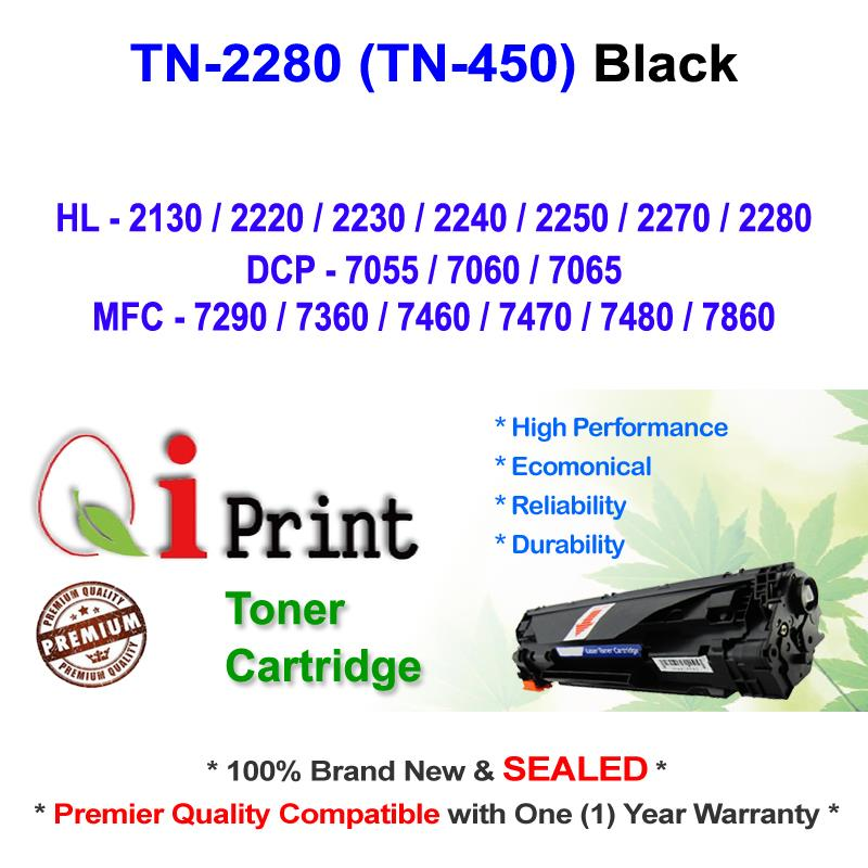 Brother TN2280 TN450 HL2280 2130 Toner Compatible * NEW SEALED *