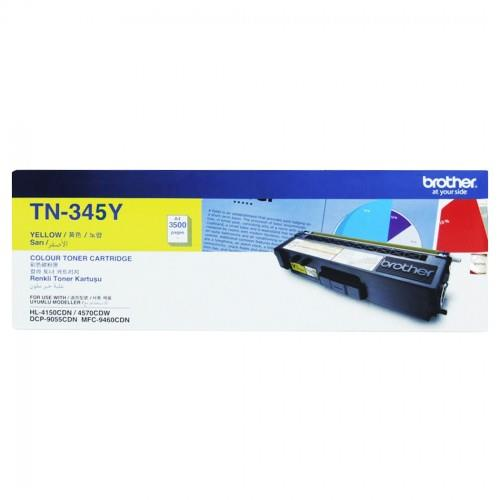 Brother Yellow High Yield Toner (TN-345)