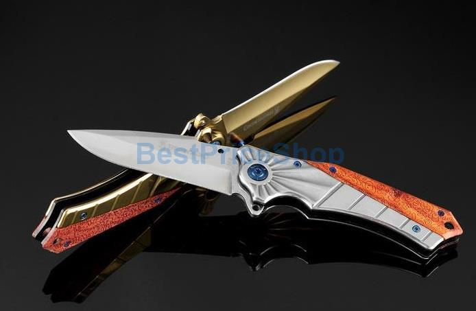 Browning Strider 368 Tactical Folding Knife Camping Hunting Pisau