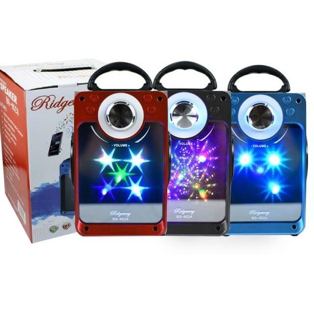 290k - Loa bluetooth karaoke xách tay BS-9524 có đèn led cực đẹp giá sỉ và lẻ rẻ nhất