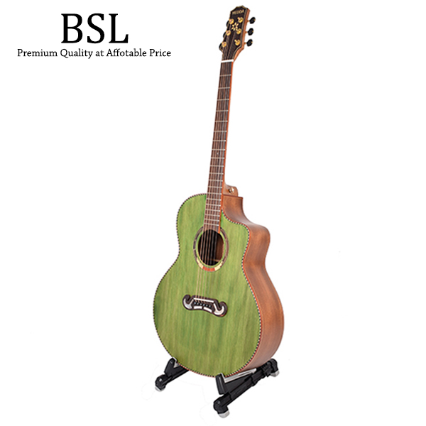 BSL A-20 Foldable Guitar Stand A Frame Folding Universal For Guitar Ba