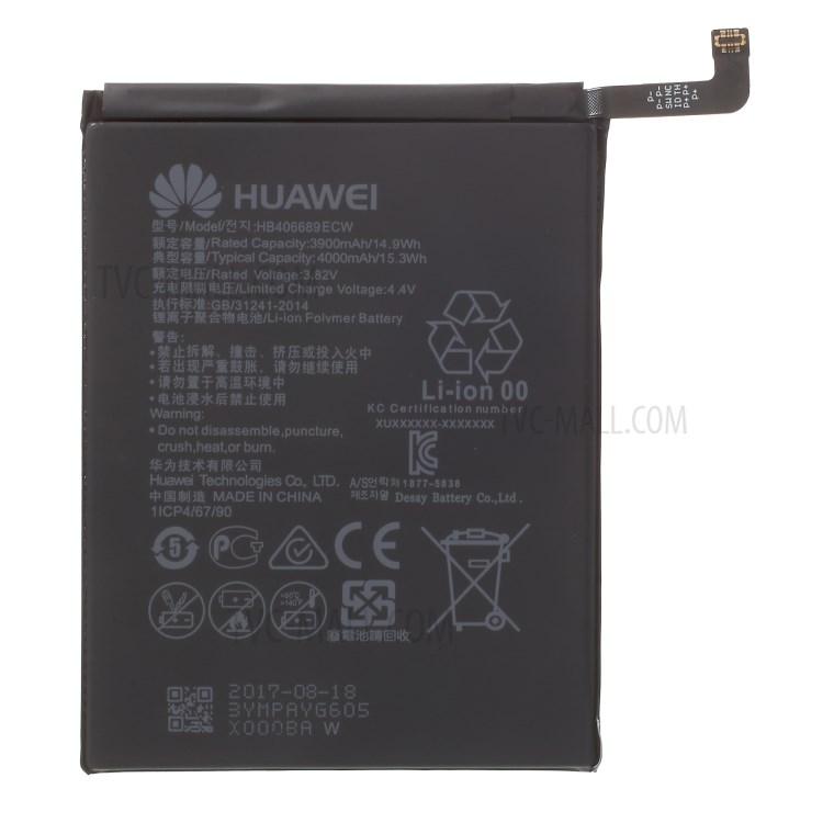 BSS Huawei Y7 Prime Battery Repair Sparepart 4000 mAh HB406689ECW