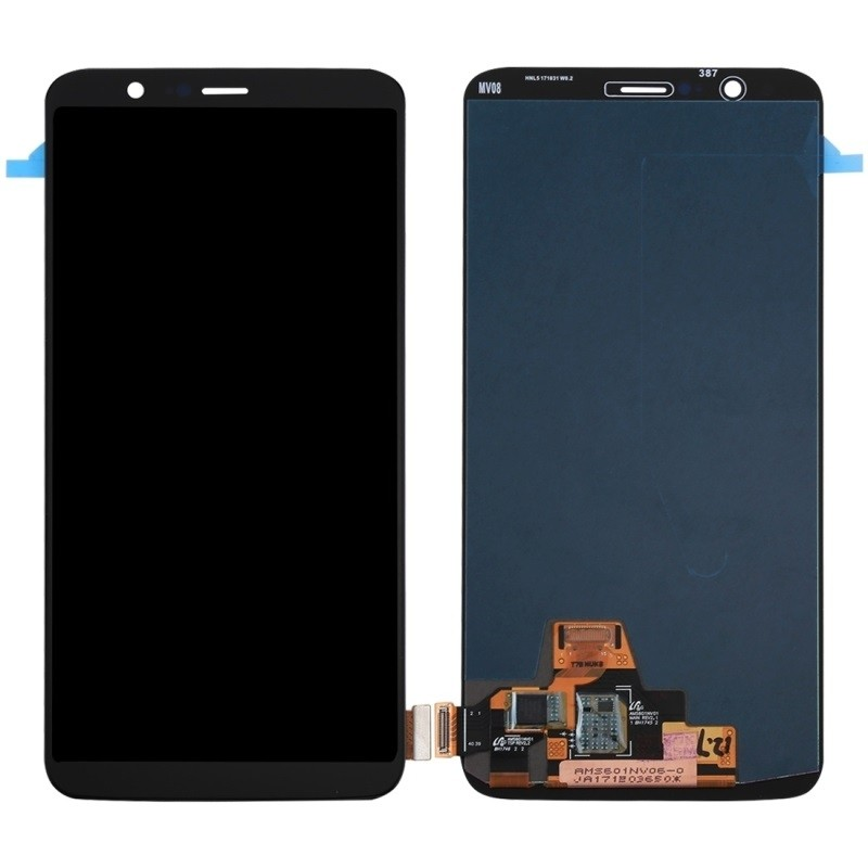 BSS Oneplus 5T Lcd + Touch Screen Digitizer Sparepart Repair