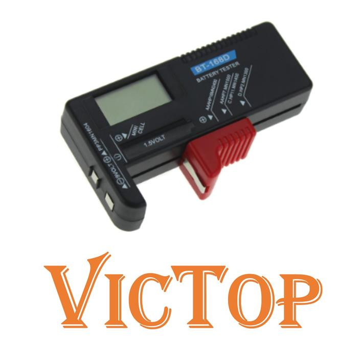BT-168D Digital Battery Capacitance Diagnostic Tool Battery Tester