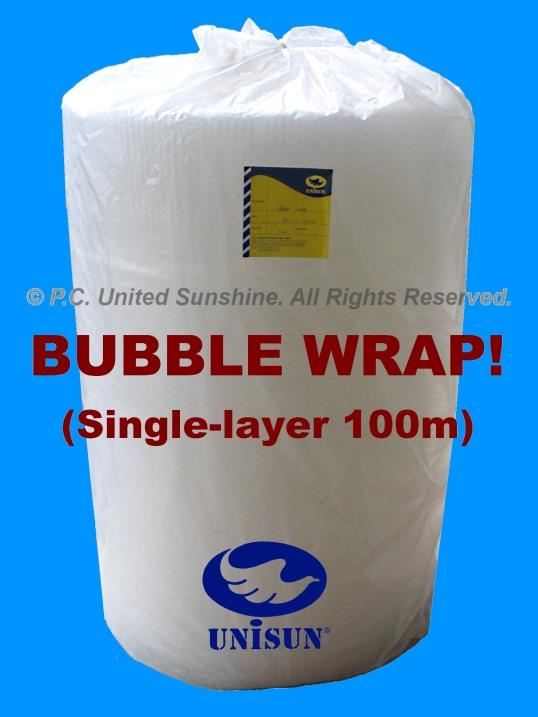 BUBBLE WRAP Single Layer FOOD GRADE 1m x 100m PROMO Plastic Packing