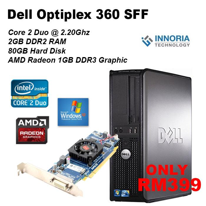 Budget Gaming Desktop PC - Dell Optiplex 360 SFF 1GB DDR3 Graphic