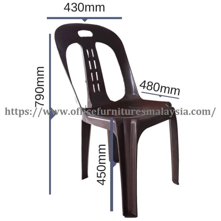 Budget Strong Plastic Stackable Chair OFMIM518