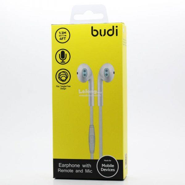 BUDI SPORTS EARPHONE WITH REMOTE AND MIC